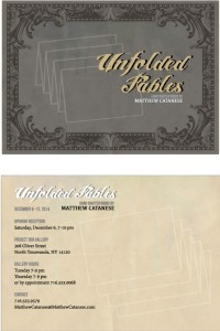 UNFOLDED FABLES INVITATIONS